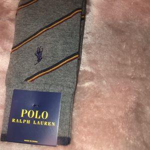 3 Ralph Lauren men's grey socks